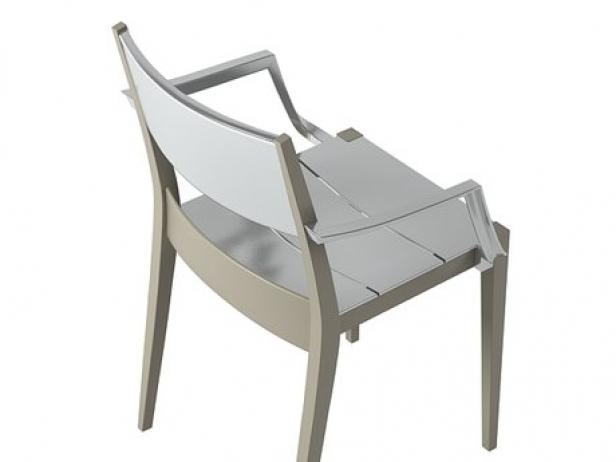 Play armchair plastic 4