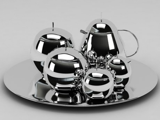 Fruit Basket Tea Service 3
