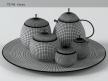 Fruit Basket Tea Service 14