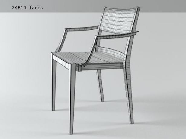 Play armchair plastic 10