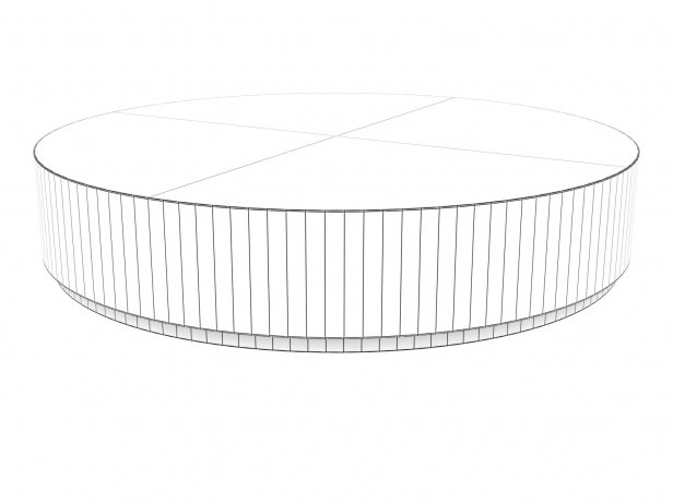 Machinto Round Coffee Table 9