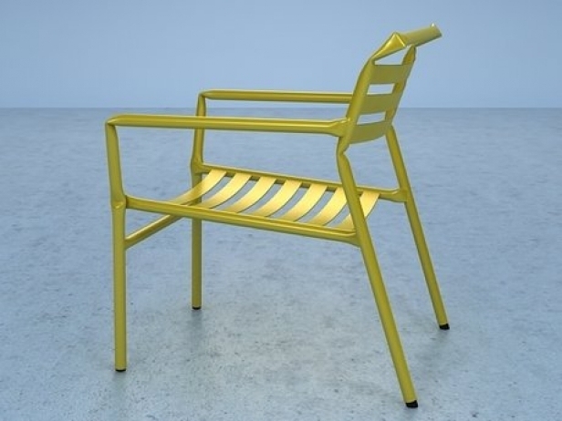 Straw lounge chair 14