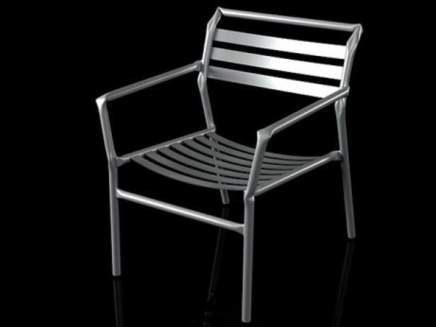 Straw lounge chair 17