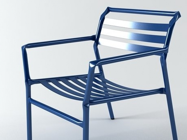Straw lounge chair 8