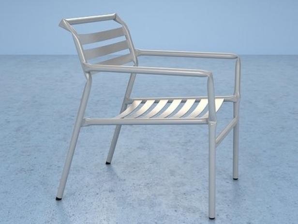 Straw lounge chair 16