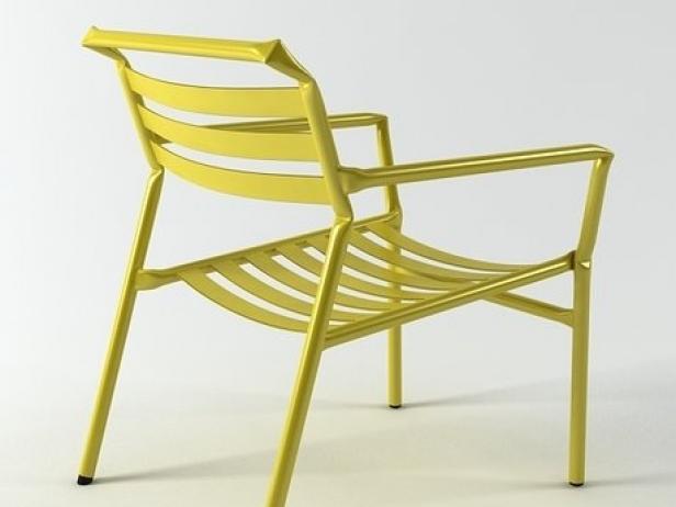 Straw lounge chair 11