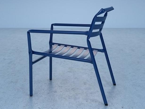 Straw lounge chair 9