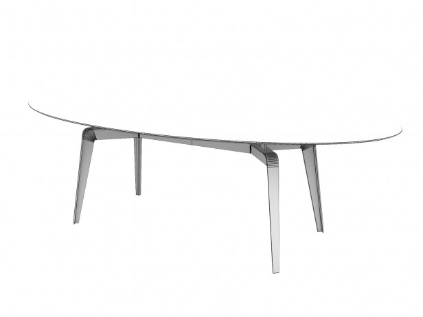 Odessa Dining Table 240 4