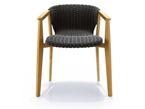 Knit Dining Armchair 2
