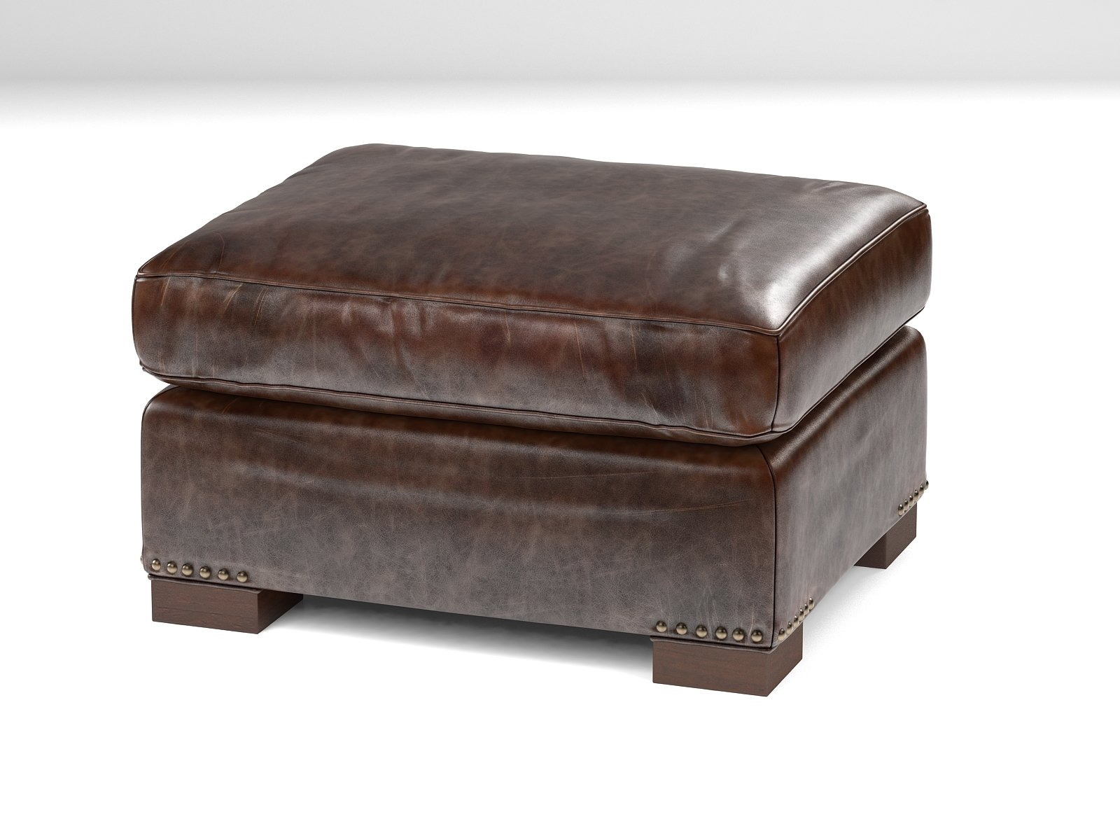 Restoration Hardware Ottoman 3d Restoration Hardware