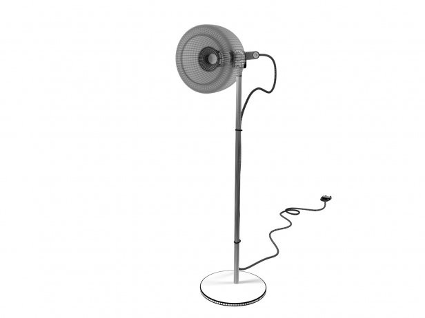 Chrome Bell Table Light 3