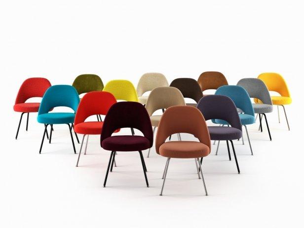 Saarinen Executive Chair Steel Legs 2