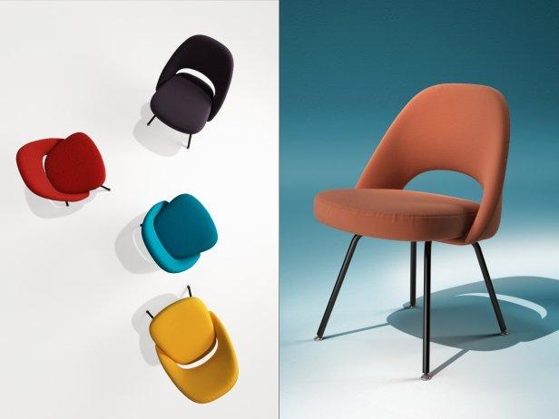 Saarinen Executive Chair Steel Legs 4