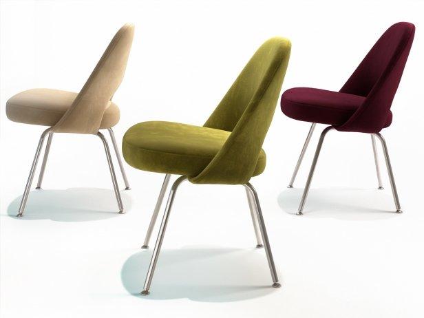 Saarinen Executive Chair Steel Legs 3