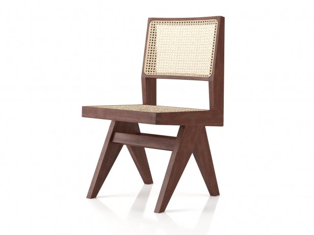 Chandigarh Armless Dining Chair 4