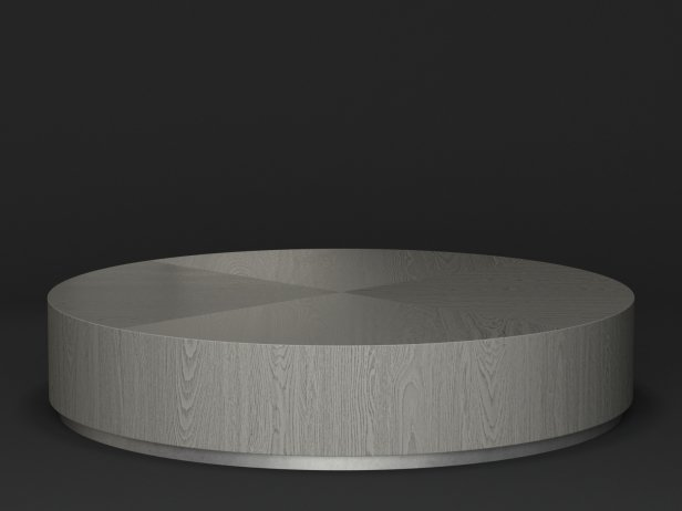 Machinto Round Coffee Table 3d Model Restoration