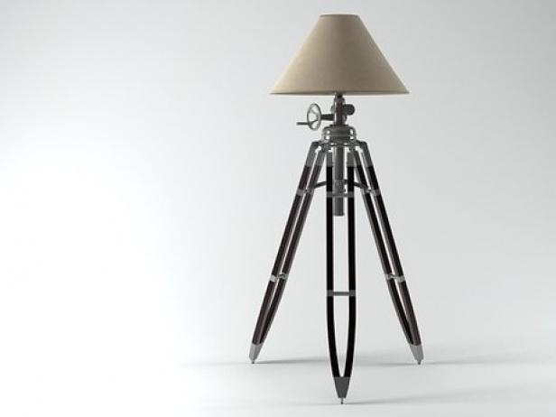 Restoration Hardware Floor Lamps >> Tripod Floor Lamp