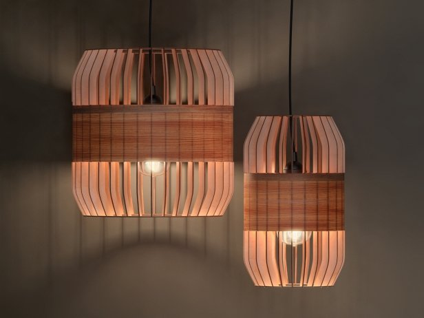 Lath Pendant Lamp 1