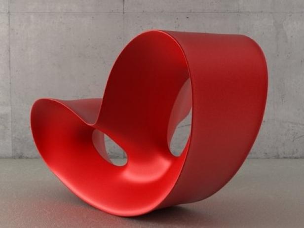 voido rocking chair 3d model magis. Black Bedroom Furniture Sets. Home Design Ideas