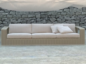 Frame 3-seat sofa