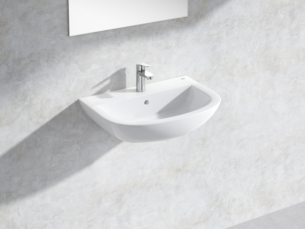 Bau Wall-hung Basin 60 Set 1