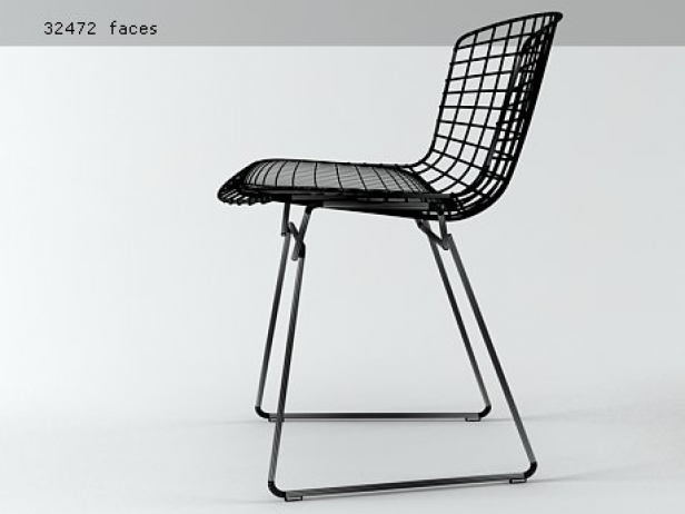 Bertoia Side Chair 8