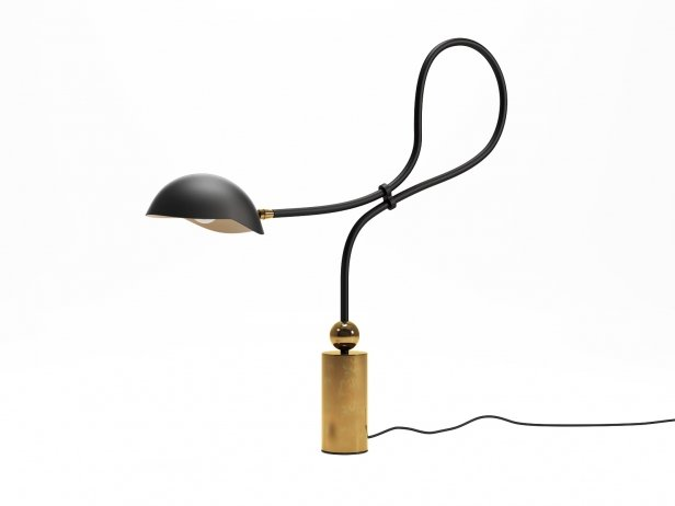 Curved Neck Table Lamp 2
