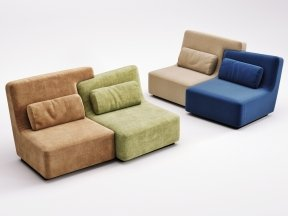 Confluences 2 2-Seater Sofa