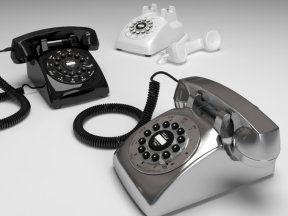 WILD & WOLF Dreyfuss 500 Telephone