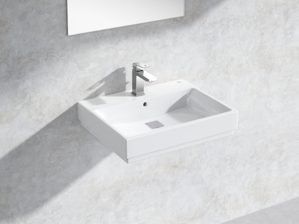 Eurocube Wall-hung Basin 60 Set 1