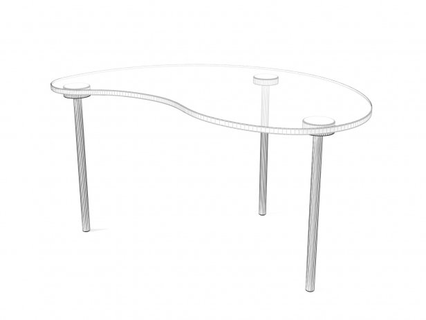 Cloud Small Table 5