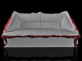 Volant 3-Seat Sofa Longuette 286