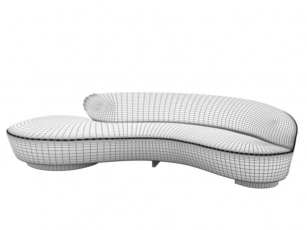 Serpentine Sofa 2