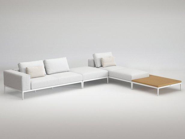 Outdoor Corner Sofa Comp D 2