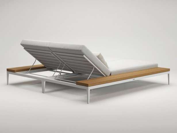 Poolside Double Lounger 3