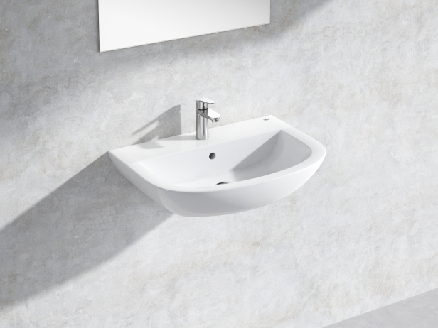 Bau Wall-hung Basin 65 Set 1