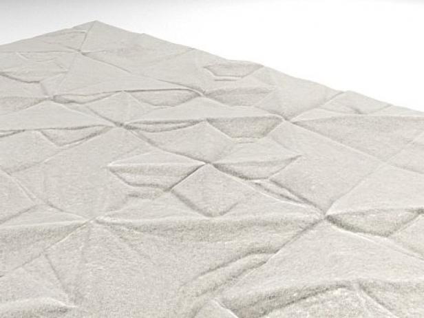 Geo Carved rug 6