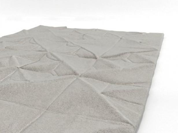 Geo Carved rug 7