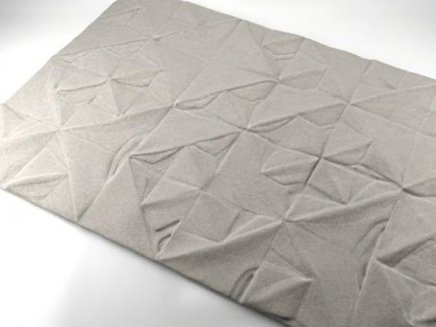 Geo Carved rug 1