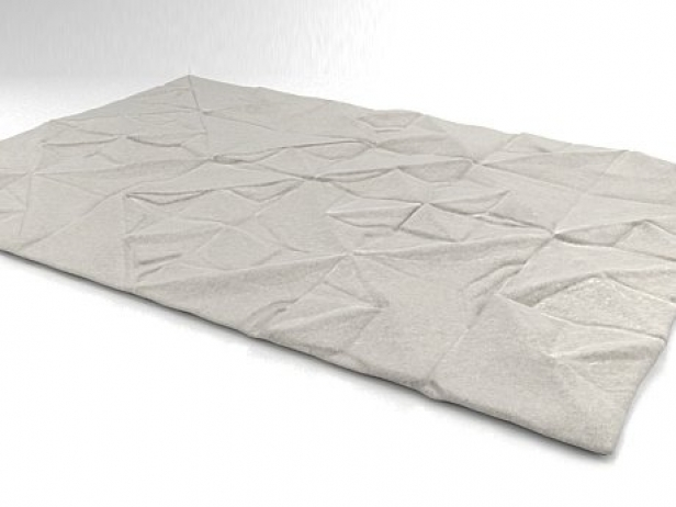 Geo Carved rug 5