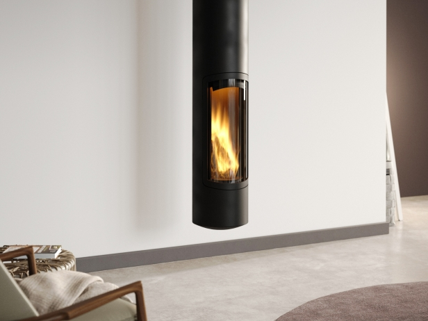 Slimfocus Suspended Fireplace 1