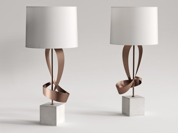 Dean Sculptural Table Lamp 1