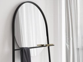 Geoffrey Mirror and Clothes Stand