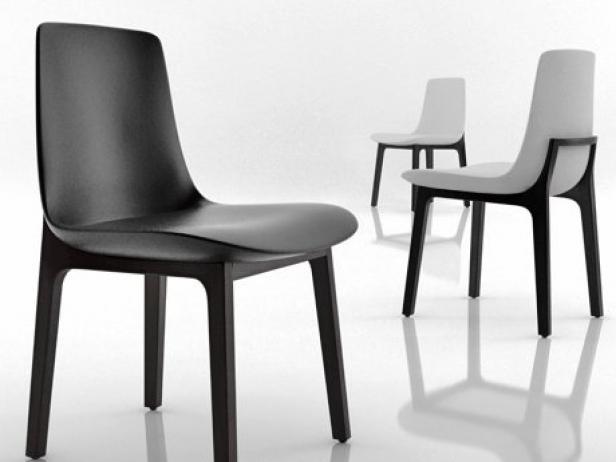 Ventura chair w d model poliform