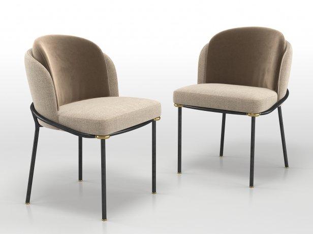 Fil Noir Dining Chair 3
