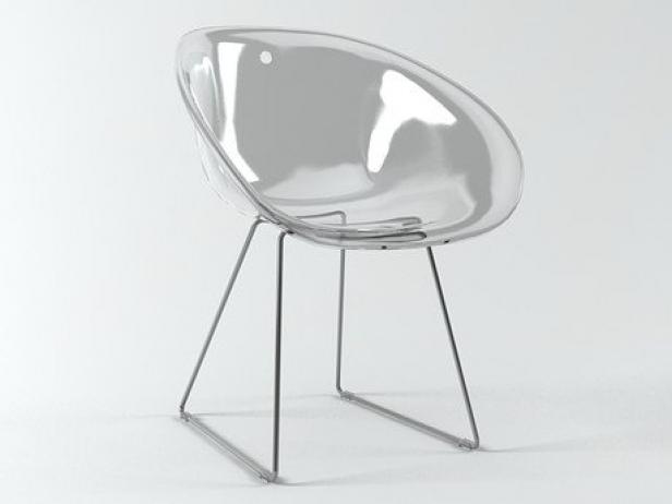 Transparent Chair 1