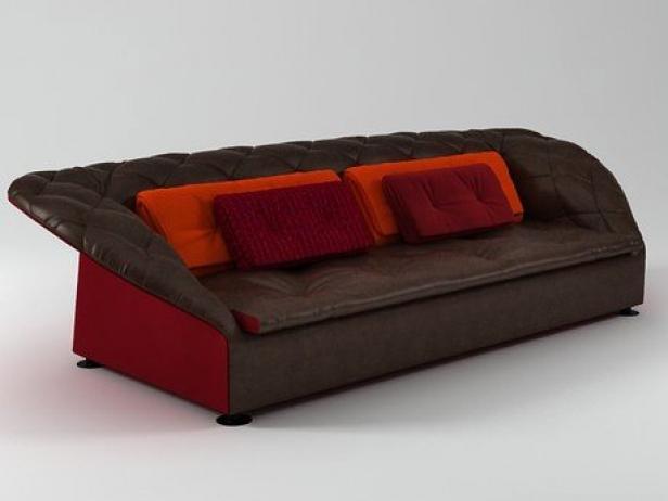 Bohemian Sofa 3d Model Moroso