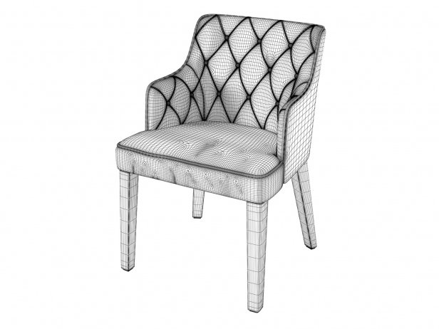 Royale Capitone Chair 4