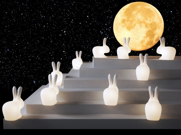 Rabbit Lamps 2