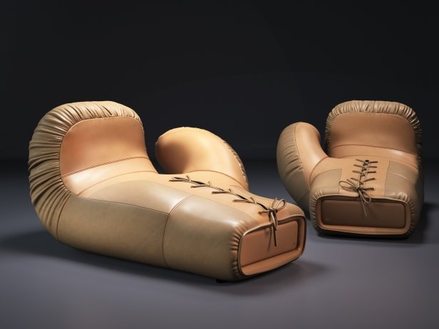 DS-2878/09-10 Boxing Glove Lounge 1